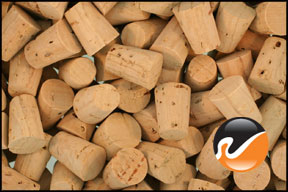 Size 0 Cork Stoppers - Standard