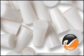 #00 White Silicone Rubber Stoppers