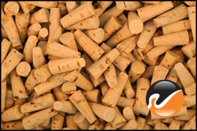 Size 0000 Cork Stoppers - Standard