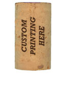 CUSTOM PRINTED 1+1 Wine Corks