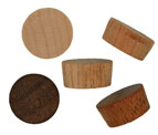 1/2 inch Flat Top Wood Plugs