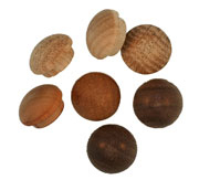 1/2 inch Button Top Wood Plugs