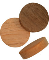 1 inch Face Grain Wood Plugs