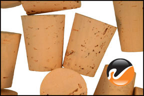 Size 10 Cork Stoppers, Extra Select