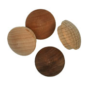 3/4 inch Wood Button Plugs