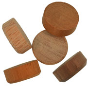 3/4 inch Wood Floor Plugs
