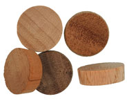 3/4 inch Flat Top Wood Plugs