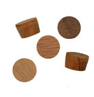 3/8 inch Face Grain Wood Plugs