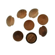 3/8 inch Button Top Wood Plugs