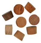 3/8 inch Flat Top Wood Plugs