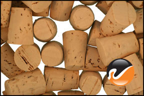 Size 3 Cork Stoppers - Standard