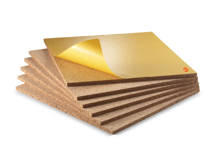 5/16 inch Self Adhesive Cork Tiles (6/pack)