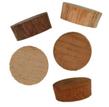 5/8 inch Flat Top Wood Plugs