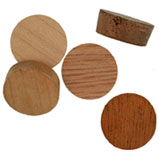5/8 inch Face Grain Wood Plugs