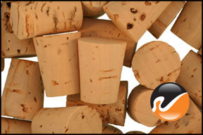 Size 5 Cork Stoppers - Standard