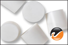#5 White Silicone Rubber Stoppers