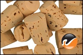Size 6 Cork Stoppers - Standard