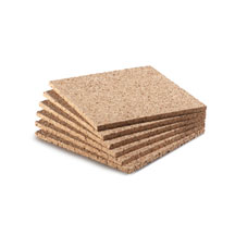 6 inch Cork Squares