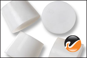#6 White Silicone Rubber Stoppers