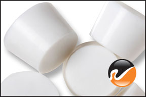 #7 White Silicone Rubber Stoppers