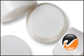 #8 White Silicone Rubber Stoppers
