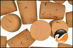 Size 9 Cork Stoppers, Extra Select
