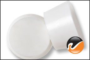 #9 White Silicone Rubber Stoppers