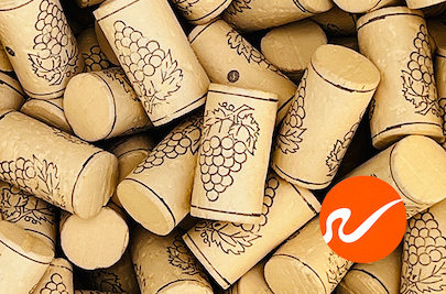 Colmated Wine Corks, B Grade