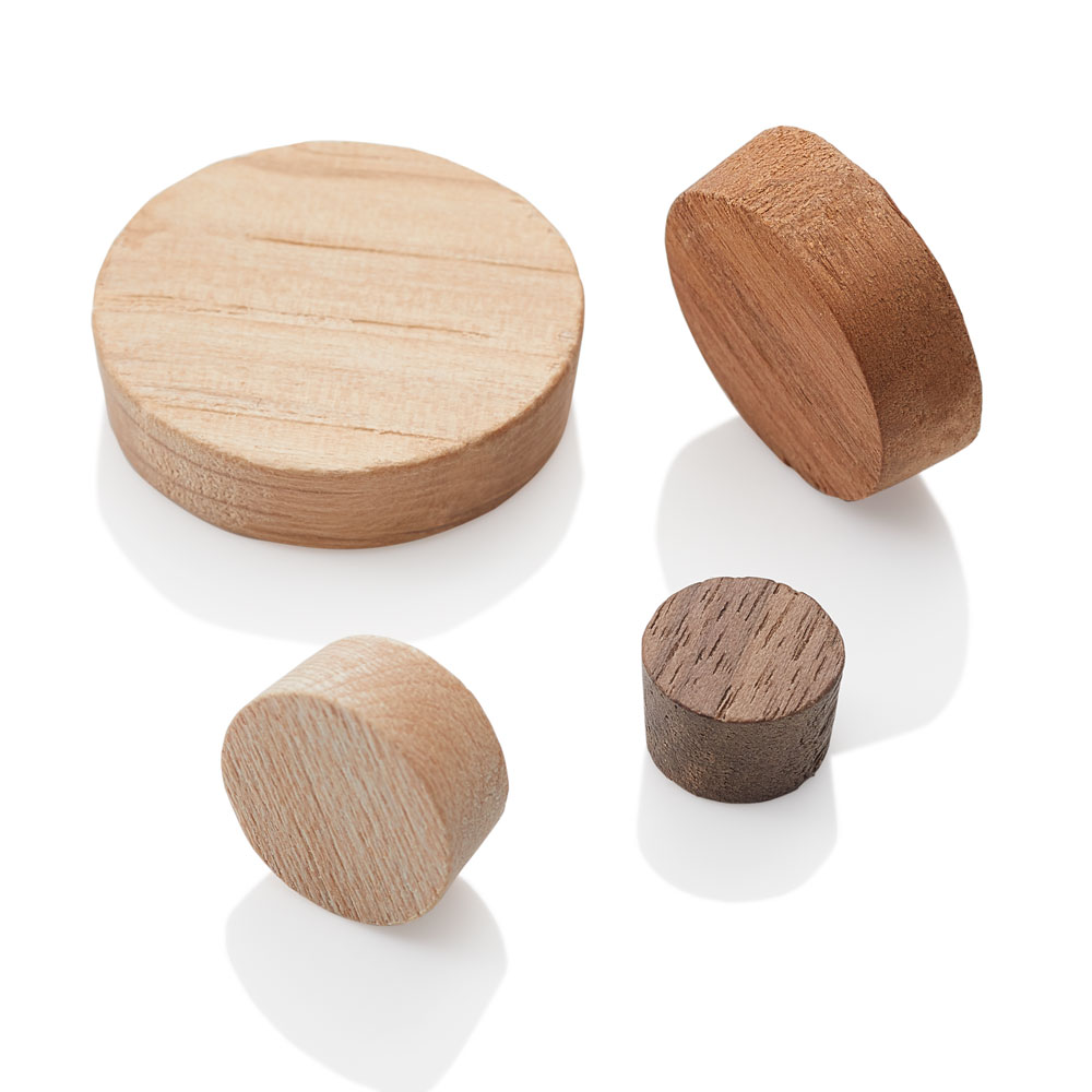 Face Grain Wood Plugs