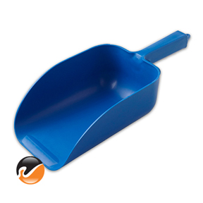 Super 82 ounce Ice Scoop, Blue