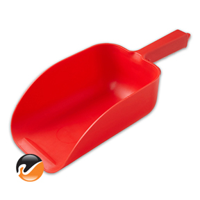 Super 82 ounce Ice Scoop, Red
