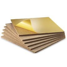 Self-Adhesive Cork Board Squares