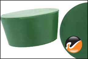 #11 Green Neoprene Rubber Stoppers