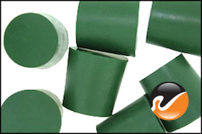 #5 Green Neoprene Rubber Stoppers