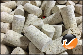 Used Wine Corks, Unprinted Grade D
