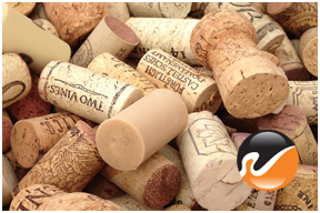 Used Wine Corks, Grade C