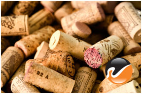Used Wine Corks, previously bottled