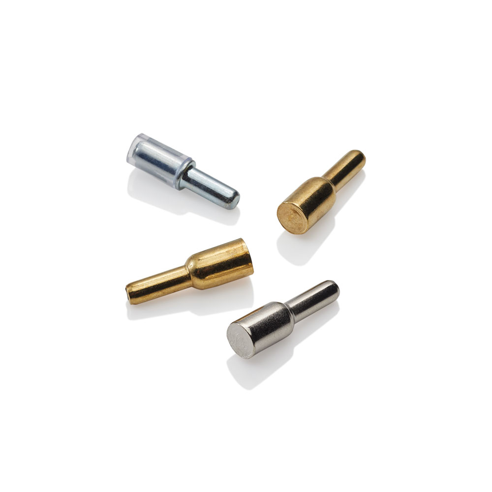 Shelf Pins Nickel Br