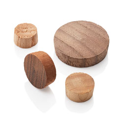 End Grain Wood Plugs