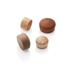 Oval Top Wood Plugs
