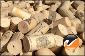 Used Wine Corks, Synthetic