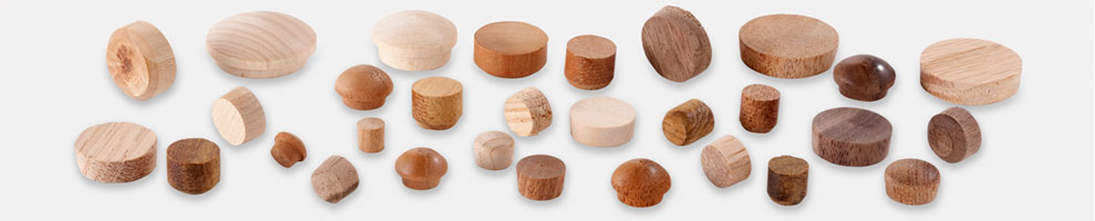Wood Plugs for furniture, floors and decks.